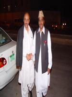 Khursheed Ahmad With Friend,