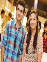Shehroz Sabzwari with Anoushey Ashraf