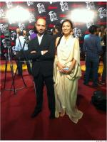 Anoushey Ashraf with VJ Faizan Haque