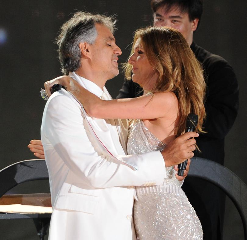 Andrea Bocelli Italian Actress