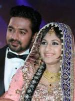 Asif Ali wedding pic