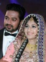 Asif Ali wedding pic