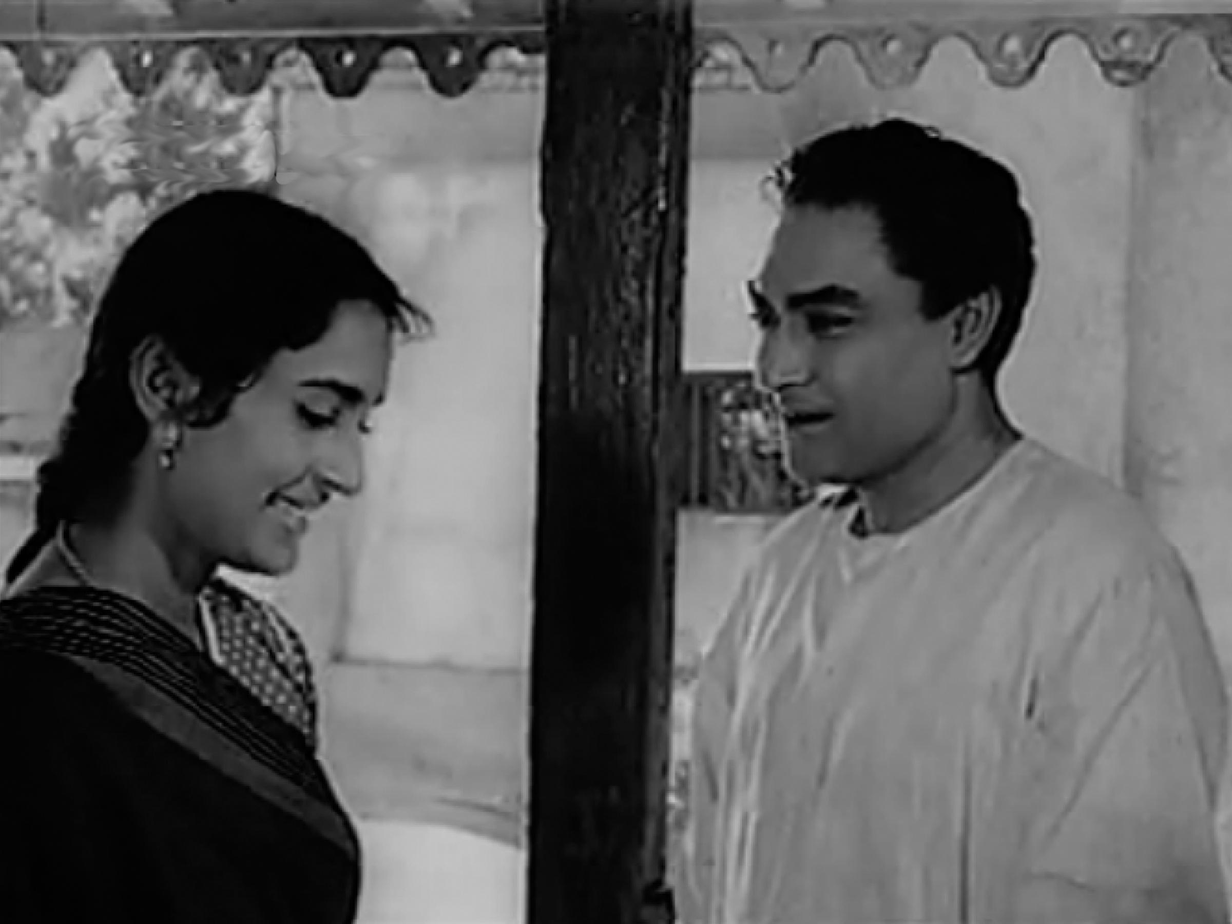 Ashok Kumar in a song of Bandini