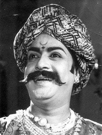 K. S. Ashwath in a movie