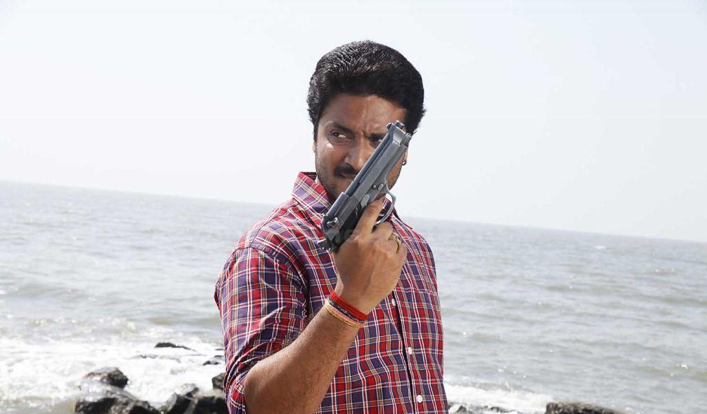 Aditya (Kannada actor) in action