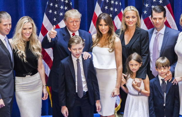Donald Trump with Family