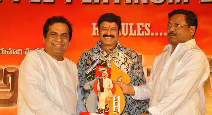 Nandamuri Balakrishna in Adhinayakudu Triple Platinum Disc Function
