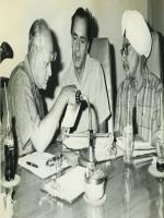 Balraj Sahni in gathering