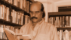 Bharath Gopi in library