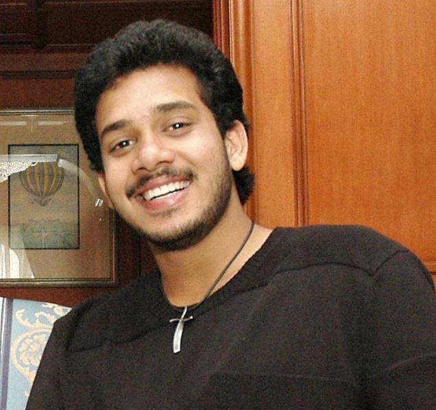 Bharath in happy mood