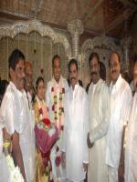 P. Bharathiraja  daughter's marrige pic
