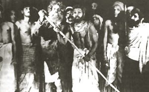 Bijon Bhattacharya in bengali theater