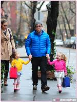 Matthew Broderick With Family