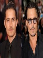 Johnny Depp is Look Like Orlando Bloom