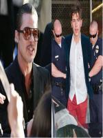 Ukrainian TV reporter Vitalii Sediuk is accused of hitting Brad Pitt i