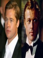 Brad Pitt is Look Like Robert Redfort