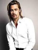 Brad Pitt glam up