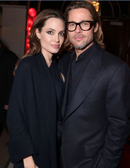 Brad with Angelina