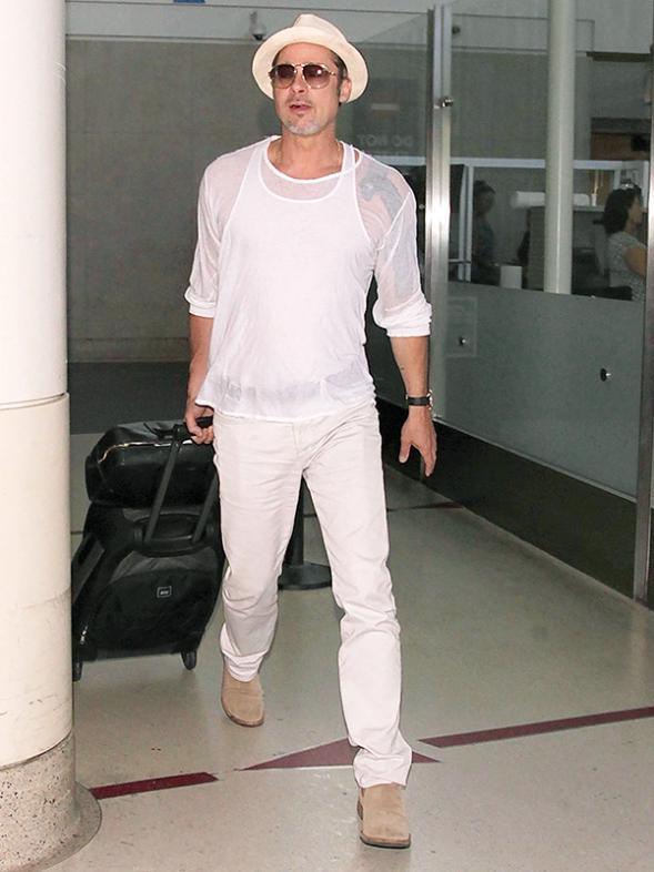 Brad Pitt In Dress