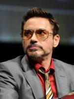 Robert Downey Jr in Serious Mood