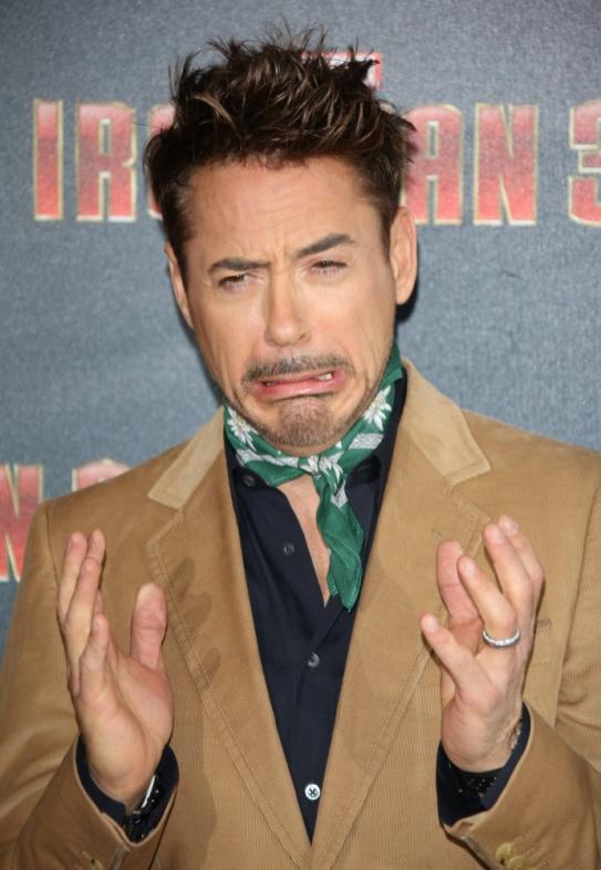 Robert Downey Jr acting