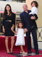 Vin Diesel's girlfriend and two children