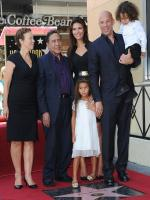 Vin Diesel with his parents, partner and his children