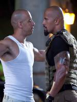 Vin Diesel with Rock in Fast and Furious