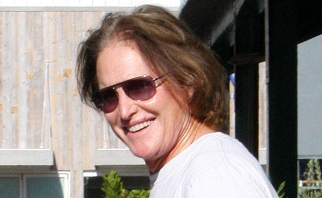 Bruce Jenner in good mood
