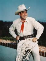 Johnny Mack Brown in action