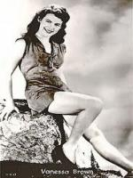Vanessa Brown hollywood actress