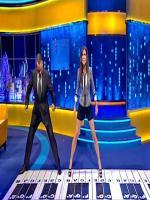 Sandra Bullock Dancing at Stage