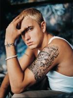 Eminem with tattoos