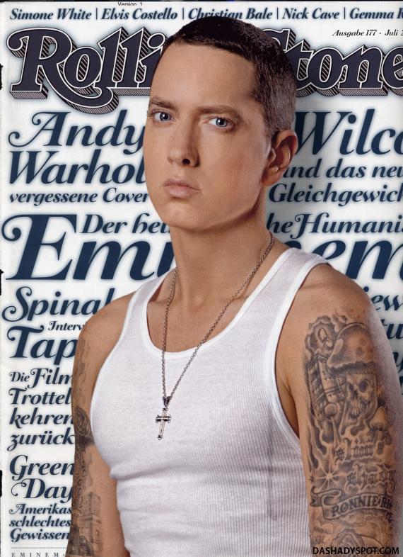 Eminem Photo Shot