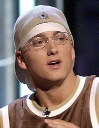 Eminem with glasses