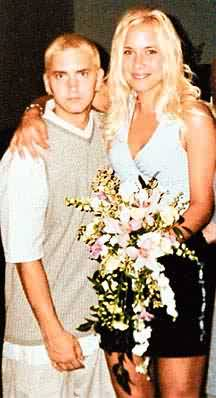 Eminem with Wife