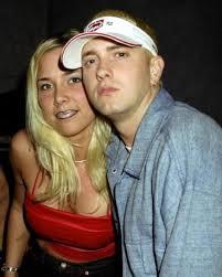 Eminem with Kim