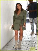 Kim Kardashian In Hot Dress