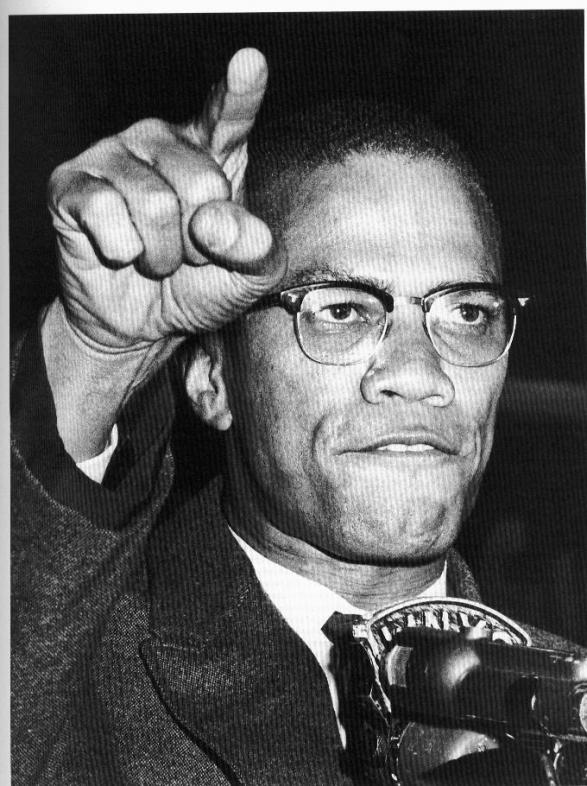 a biography of malcolm x a human rights activist