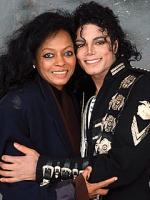 Michael jackson with Diana Roz