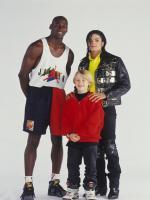 Michael jackson with Michael Jordan