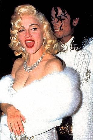 Michael jackson with Madona