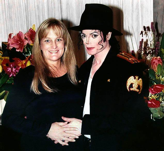 Michael Jackson With Wife