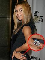 Beyonce Knowles Wedding ring