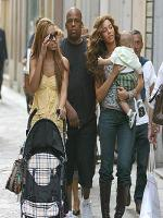 Beyonce Knowles Family picture