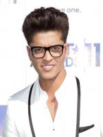 Bruno Mars with glasses