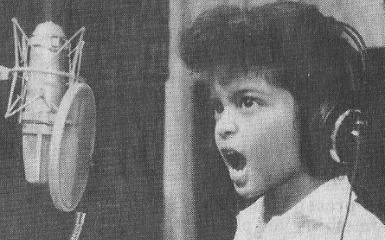 Bruno Mars Childhood picture
