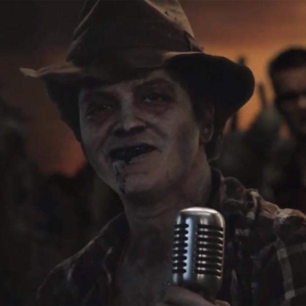 Bruno Mars as a zombie