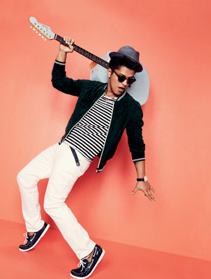 Bruno Mars action Picture