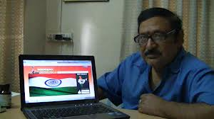 Chandra Mohan (actor) at home